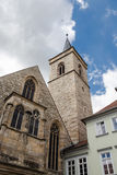 Torre de iglesia de St Lorenz en Erfurt, Alemania Fotos de archivo