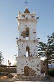 Torre de iglesia de Toconao en Toconao, Chile fotos de archivo libres de regalías