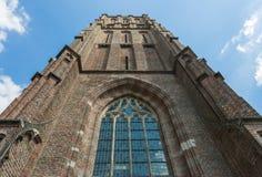 Torre de iglesia en Asperen fotografía de archivo