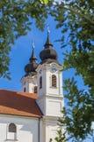 Torre de iglesia en Tihany Fotos de archivo libres de regalías