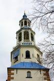 Torre de iglesia en Uithuizermeden imagen de archivo libre de regalías