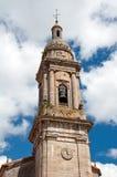 Torre de iglesia española Fotos de archivo libres de regalías