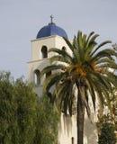 Torre de igreja da concepção imaculada foto de stock