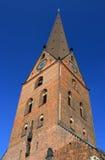 Torre de igreja do St. Petri (Hamburgo, Alemanha) Imagem de Stock Royalty Free