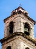 Torre de igreja em Havana Foto de Stock