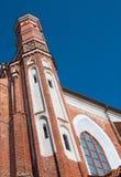 Torre de igreja velha do bernardine Imagem de Stock