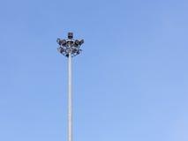 Torre de iluminação Fotografia de Stock