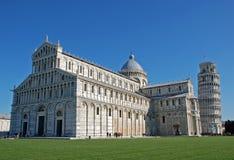 Torre de inclinação de Pisa Foto de Stock