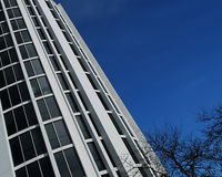 Torre de inclinação do escritório Fotos de Stock