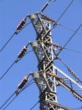 Torre de interruptor de la energía eléctrica 1 fotografía de archivo