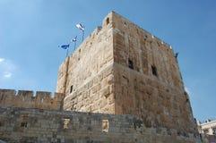 Torre de Jerusalem Fotografia de Stock
