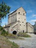 Torre de ka del ` de Kushnirs, Kamianets-Podilskyi, Ucrania imagenes de archivo