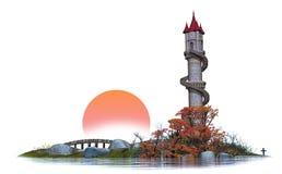 Torre de Karkardooma Imagem de Stock
