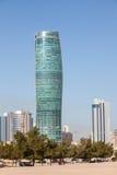 Torre de KIPCO en la ciudad de Kuwait Imagen de archivo libre de regalías