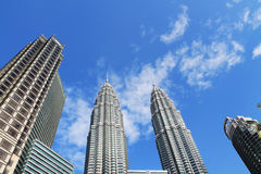 Torre de Klcc Petronas Imagenes de archivo