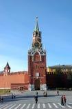 Torre de Kremlin Spasskaya em Moscovo Foto de Stock Royalty Free