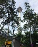 Torre de Kuala Lumpur Imágenes de archivo libres de regalías