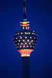 Torre de Kuala Lumpur (torre del kilolitro) imagenes de archivo