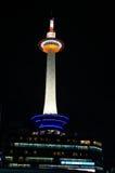 Torre de Kyoto na noite Imagens de Stock Royalty Free