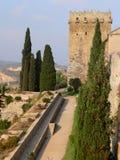 Torre de l'Arquebisbe, Tarragona (Spain ) Stock Photography