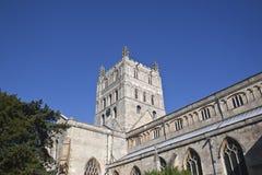 Torre de la abadía de Tewkesbury Fotos de archivo libres de regalías
