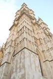 Torre de la abadía de Wesminster Foto de archivo
