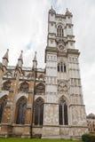 Torre de la abadía de Westminster Fotografía de archivo libre de regalías