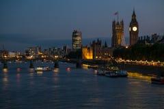 Torre de la abadía de Westminster Imagen de archivo