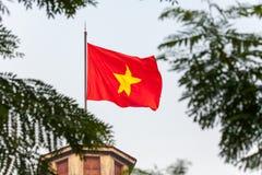 Torre de la bandera de Hanoi foto de archivo