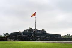 Torre de la bandera en la ciudad imperial en tonalidad fotos de archivo libres de regalías