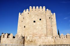 Calahorra Tower in Cordoba, Spain Royalty Free Stock Image