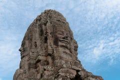 Torre de la cara de Bayon Fotografía de archivo libre de regalías