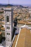 Torre de la catedral de Florencia Foto de archivo libre de regalías