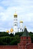 Torre de la catedral de Moscú Kremlin Fotos de archivo
