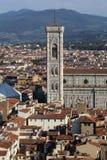 Torre de la catedral de Florencia, Italia Imagen de archivo