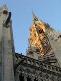 Torre de la catedral Notre-Dame Fotografía de archivo libre de regalías