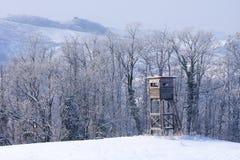 Torre de la caza Imagenes de archivo