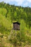 Torre de la caza Fotografía de archivo libre de regalías