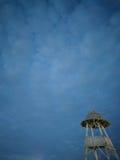 Torre de la choza Fotografía de archivo libre de regalías