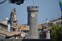 Torre de la ciudad Imágenes de archivo libres de regalías