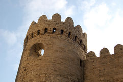 Torre de la ciudad de Baku Imagen de archivo libre de regalías