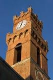 Torre de la ciudad de Pienza imágenes de archivo libres de regalías