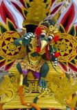Torre de la cremación del Balinese Imagen de archivo