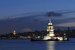Torre de la doncella Foto de archivo libre de regalías
