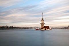 Torre de la doncella Imágenes de archivo libres de regalías