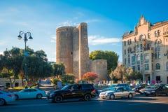 Torre de la doncella Imagenes de archivo