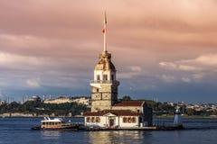Torre de la doncella Fotografía de archivo libre de regalías