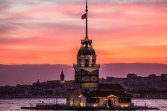 Torre de la doncella Imagen de archivo