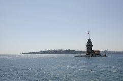 Torre de la doncella en Estambul fotografía de archivo libre de regalías
