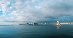 Torre de la doncella en Estambul Imagen de archivo libre de regalías